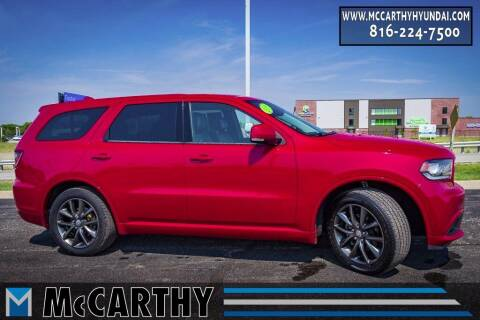 2018 Dodge Durango for sale at Mr. KC Cars - McCarthy Hyundai in Blue Springs MO