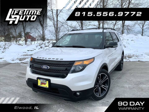 2014 Ford Explorer for sale at Lifetime Auto in Elwood IL