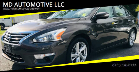 2014 Nissan Altima for sale at MD AUTOMOTIVE LLC in Slidell LA