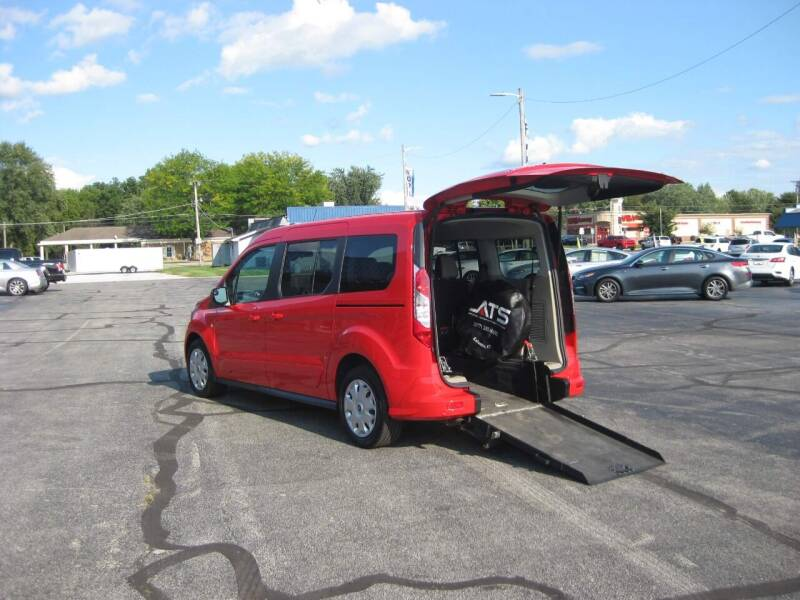 2016 Ford Transit Connect Wagon for sale at McCrocklin Mobility in Middletown IN