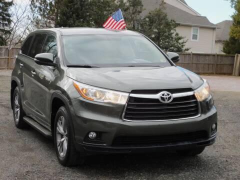 2015 Toyota Highlander for sale at Prize Auto in Alexandria VA