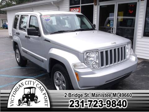 2010 Jeep Liberty for sale at Victorian City Car Port INC in Manistee MI