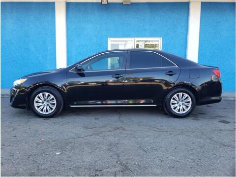 2012 Toyota Camry for sale at Khodas Cars in Gilroy CA