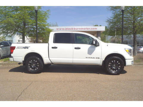 2018 Nissan Titan for sale at BLACKBURN MOTOR CO in Vicksburg MS