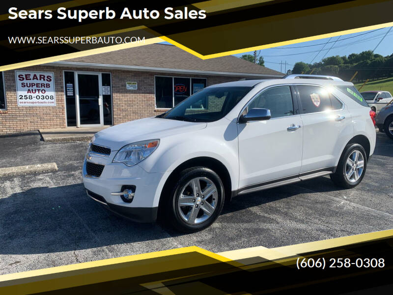 2015 Chevrolet Equinox for sale at Sears Superb Auto Sales in Corbin KY