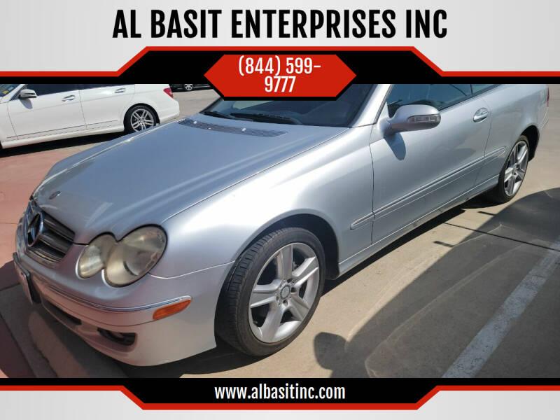 2007 Mercedes-Benz CLK for sale at AL BASIT ENTERPRISES INC in Riverside CA