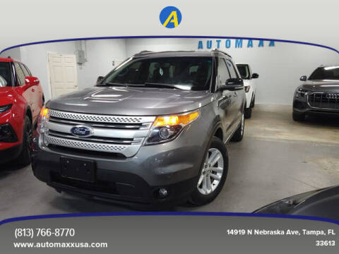 2013 Ford Explorer for sale at Automaxx in Tampa FL