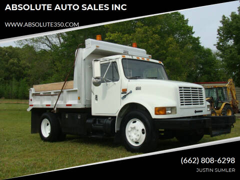 2000 International 4700 for sale at ABSOLUTE AUTO SALES INC in Corinth MS