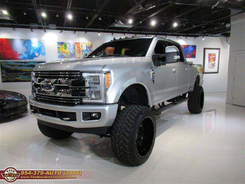 2019 Ford F-350 Super Duty for sale at The New Auto Toy Store in Fort Lauderdale FL