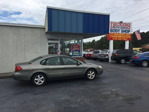 2001 Ford Taurus for sale at Deckers Auto Sales Inc in Fayetteville NC