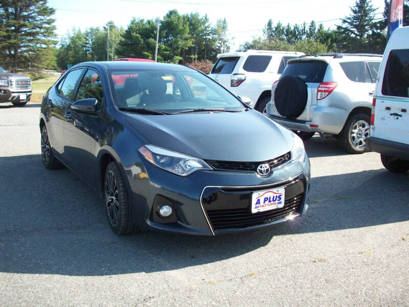 2015 Toyota Corolla for sale at A-Plus Motors in Alton ME