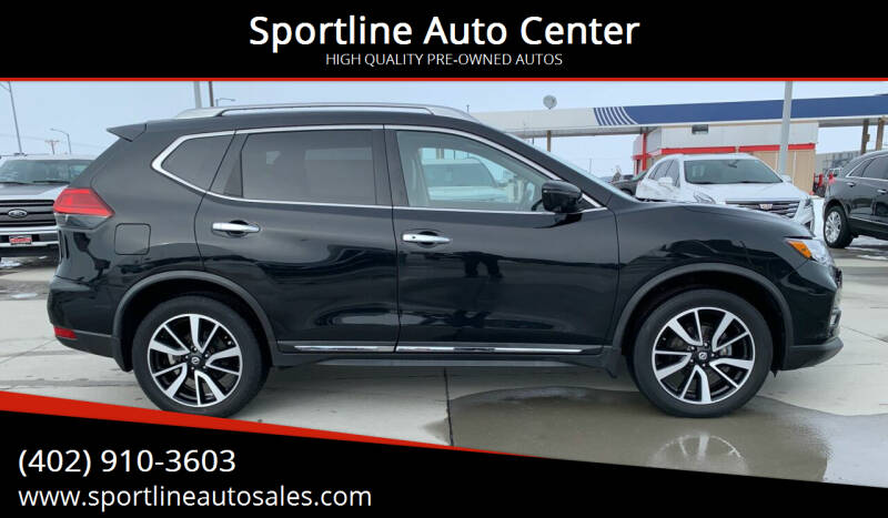 2017 Nissan Rogue for sale at Sportline Auto Center in Columbus NE