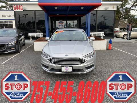 2018 Ford Fusion Hybrid for sale at 1 Stop Auto in Norfolk VA