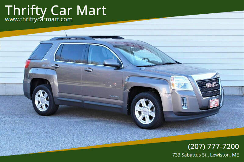 2012 GMC Terrain for sale at Thrifty Car Mart in Lewiston ME