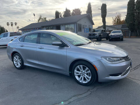 2015 Chrysler 200 for sale at Blue Diamond Auto Sales in Ceres CA