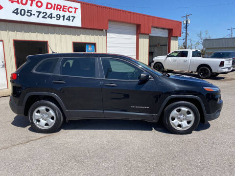 2017 Jeep Cherokee for sale at OKC Auto Direct in Oklahoma City OK