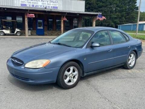 2000 Ford Taurus for sale at Greenbrier Auto Sales in Greenbrier AR