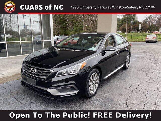 2015 Hyundai Sonata for sale at Summit Credit Union Auto Buying Service in Winston Salem NC