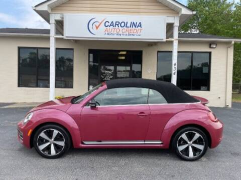 2017 Volkswagen Beetle Convertible for sale at Carolina Auto Credit in Youngsville NC