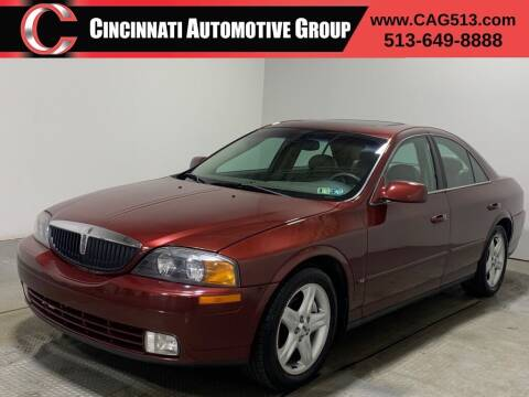 2000 Lincoln LS for sale at Cincinnati Automotive Group in Lebanon OH
