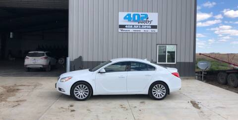 2011 Buick Regal for sale at 402 Autos in Lindsay NE