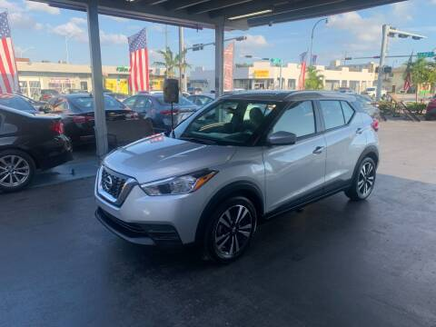 2019 Nissan Kicks for sale at American Auto Sales in Hialeah FL
