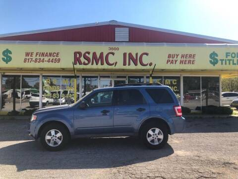 2010 Ford Escape for sale at Ron Self Motor Company in Fort Worth TX