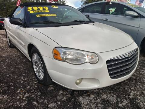 2006 Chrysler Sebring for sale at AFFORDABLE AUTO SALES OF STUART in Stuart FL
