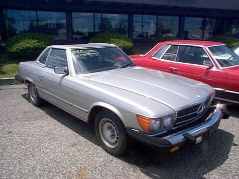 1977 Mercedes-Benz SL-Class for sale at Black Tie Classics in Stratford NJ