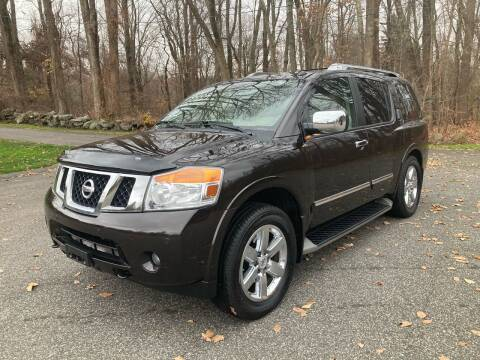 2014 Nissan Armada for sale at Lou Rivers Used Cars in Palmer MA