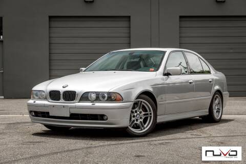 2002 BMW 5 Series for sale at Nuvo Trade in Newport Beach CA