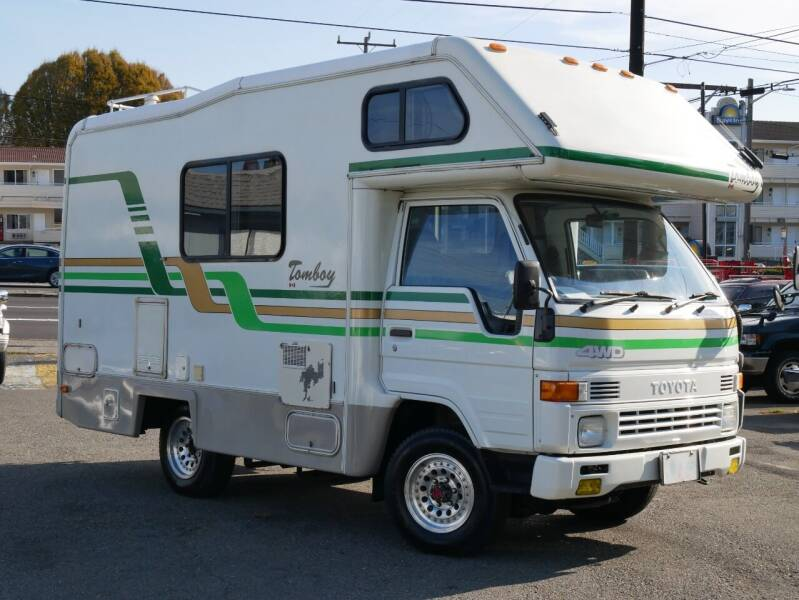 1994 Toyota Hiace Tomboy Camper for sale at JDM Car & Motorcycle LLC in Seattle WA