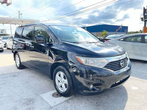 2014 Nissan Quest for sale at P J Auto Trading Inc in Orlando FL
