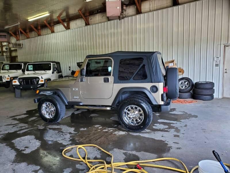 2003 Jeep Wrangler for sale at Grace Motors in Evansville IN