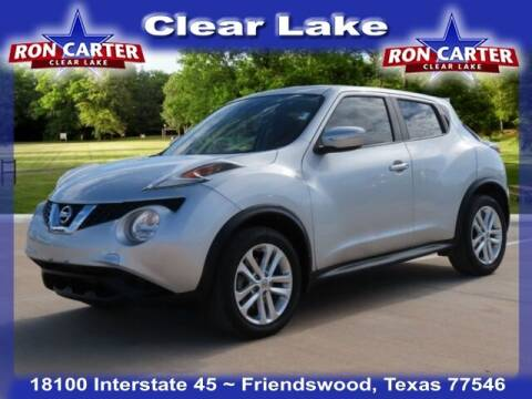 2015 Nissan JUKE for sale at Ron Carter  Clear Lake Used Cars in Houston TX