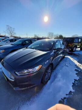 2016 Ford Fusion for sale at Jeff's Sales & Service in Presque Isle ME