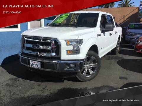 2016 Ford F-150 for sale at LA PLAYITA AUTO SALES INC in South Gate CA