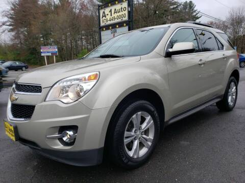2013 Chevrolet Equinox for sale at A-1 Auto in Pepperell MA