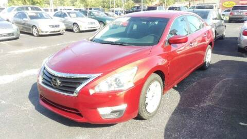 2014 Nissan Altima for sale at Tony's Auto Sales in Jacksonville FL