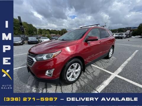 2018 Chevrolet Equinox for sale at Impex Auto Sales in Greensboro NC