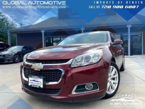 2015 Chevrolet Malibu for sale at Global Automotive Imports of Denver in Denver CO