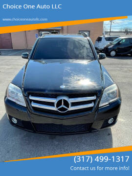 2010 Mercedes-Benz GLK for sale at Choice One Auto LLC in Beech Grove IN