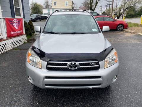 2008 Toyota RAV4 for sale at Fuentes Brothers Auto Sales in Jessup MD