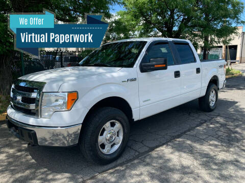 2013 Ford F-150 for sale at Eastclusive Motors LLC in Hasbrouck Heights NJ