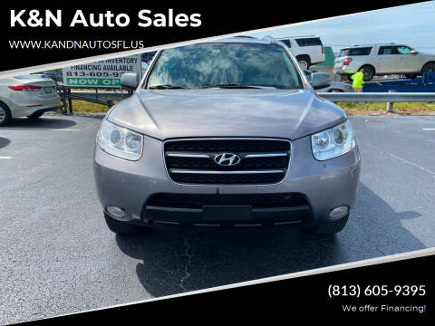 2007 Hyundai Santa Fe for sale at K&N Auto Sales in Tampa FL