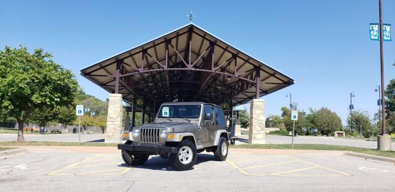 2005 Jeep Wrangler for sale at D&C Motor Company LLC in Merriam KS