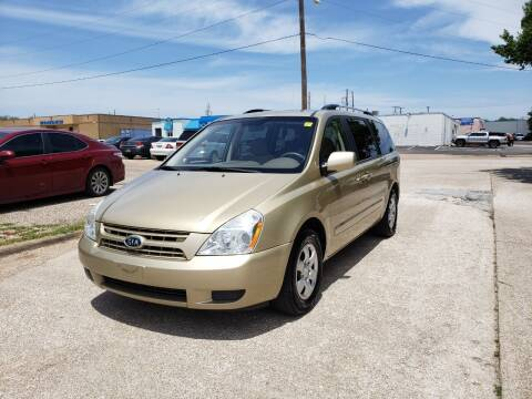 2009 Kia Sedona for sale at Image Auto Sales in Dallas TX