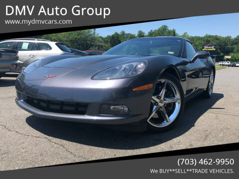 2011 Chevrolet Corvette for sale at DMV Auto Group in Falls Church VA
