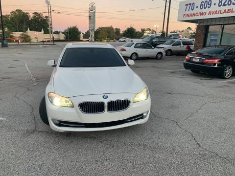 2013 BMW 5 Series for sale at Trust Autos, LLC in Decatur GA