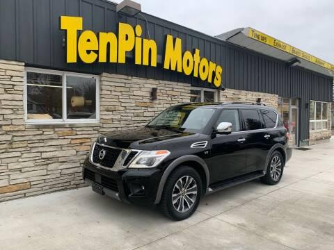 2019 Nissan Armada for sale at TenPin Motors LLC in Fort Atkinson WI